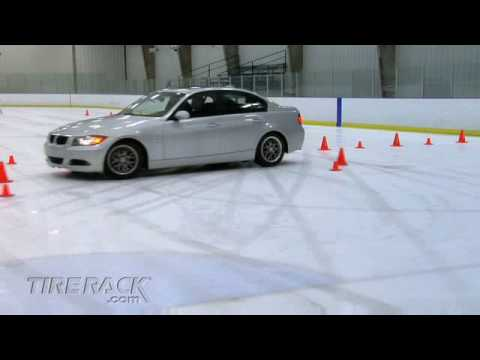 Tire Rack Tire Test - Winter/Snow vs. All-Season vs. Summer Tires on Ice