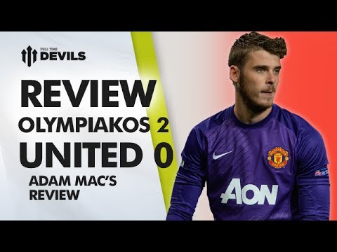 Finished At United! | Olympiakos 2-0 Manchester United | Champions League REVIEW