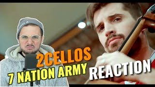 2cellos Seven Nation Army Reaction