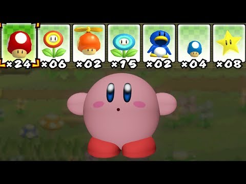 What happens when Kirby uses Mario's Power-Ups?