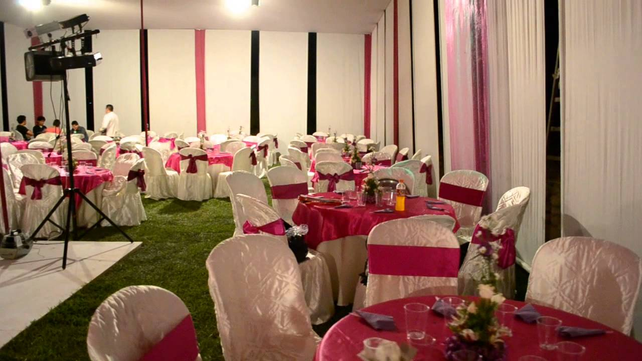 Wakami eventos toldo para bodas youtube for Toldos para eventos