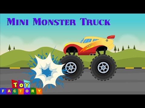 Trucks for children | monster trucks for children | Monster Trucks - Trucks Cartoon