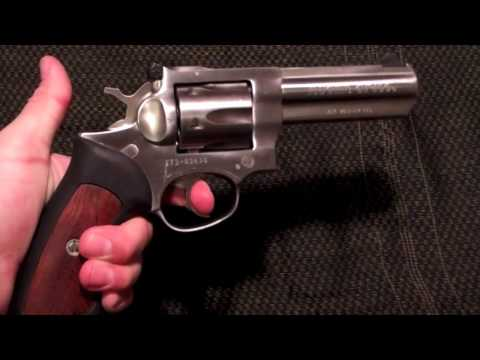 Ruger GP100 .357 Magnum Revolver review with shooting