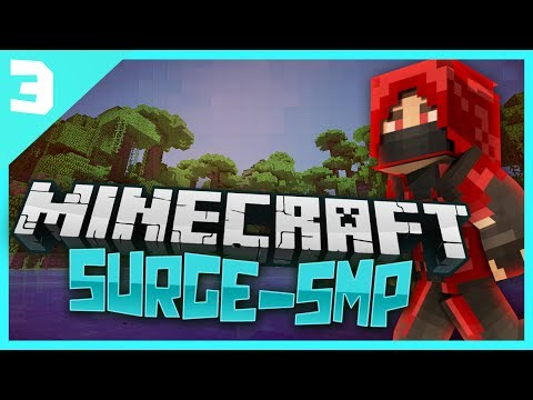 Minecraft Surge SMP: E3 - Team Road Building!