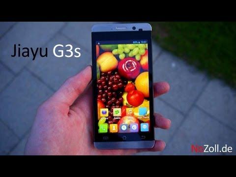 Jiayu G3s Deutsch/German Handy Review - NoZoll.de -