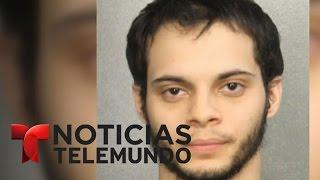 En corte acusado por tiroteo en aeropuerto Fort Lauderdale | Noticiero | Noticias Telemundo