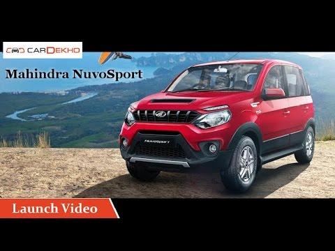 Mahindra NuvoSport   Launch  Video   CarDekho.com