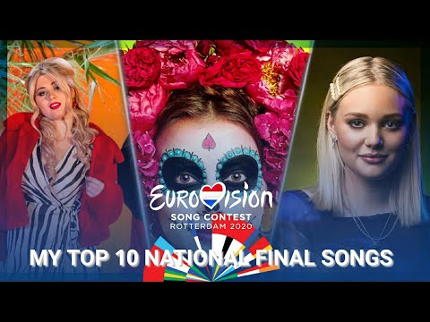 Eurovision 2020 Season // My Top 10 Songs So Far (1/2/20)