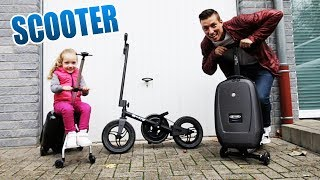 Sind diese Scooter ihr Geld wert? | Micro Luggage Koffer Scooter  Unboxing - Review - Test [Deutsch]