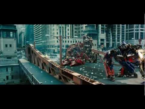 Transformers 3  - Optimus vs Sentinel