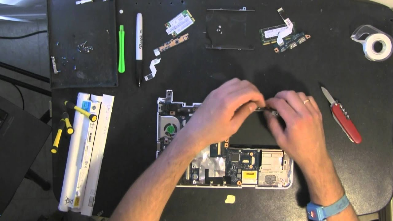 Диагностика ноутбука своими руками леново