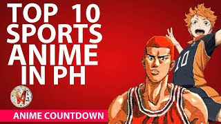 Top 6 Most Popular Sports Anime Aired in the Philippines