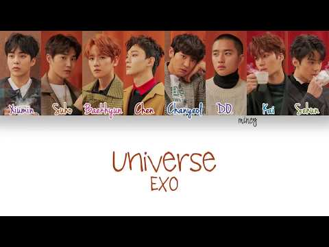 EXO - UNIVERSE (Color Coded Han|Rom|Eng Lyrics) | mincy