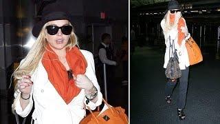 Lindsay Lohan Cracks Up When Mistaken For Lady Gaga [2011]