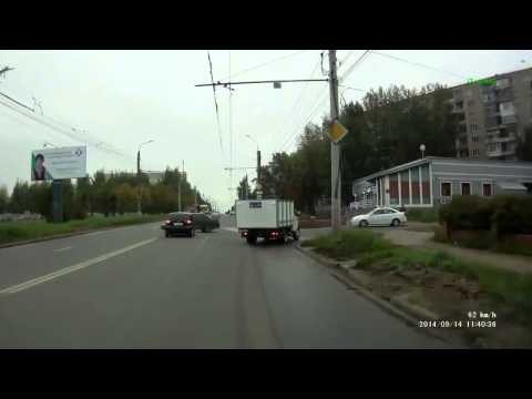 Авария в Ижевске 14 09 2014