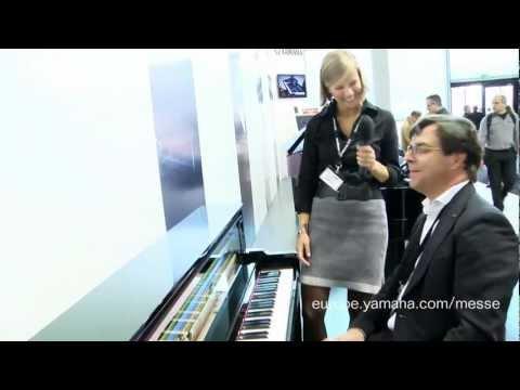 (EN) New Yamaha NU1 Hybrid Piano / Musikmesse