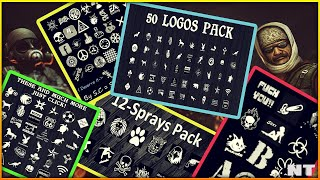 Pack de SPRAYS y LOGOS para Counter Strike 1.6