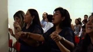 Maria Félix e Banda no 5º Aniversario da Igreja Evangélica Pentecostal Restaurar