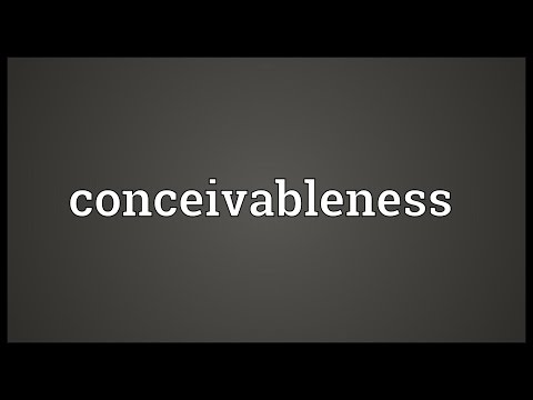 Header of conceivableness