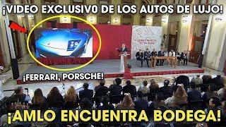 AMLO Descubre Bodega de Autos de Lujo Que Ahora Va a Subastar ¡Quedó AS0MBRADO!