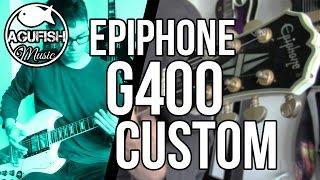 download lagu Epiphone G400 Custom - Rock / Metal Demo  gratis