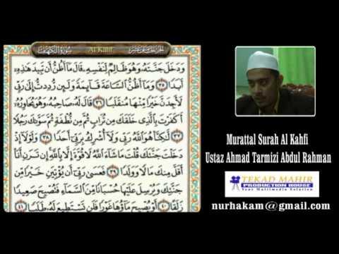 Murattal Bacaan Surah Al Kahfi Ustaz Ahmad Tarmizi Abdul Rahman video