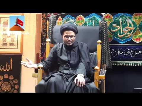 Shahadate Imam Zain-ul-Abideen   Maulana Syed Qambar Ali Rizvi - Birmingham (UK) - 8th November 2015