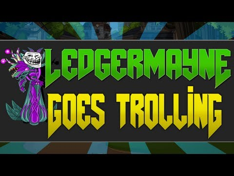 "AQWorlds Ledgermayne Goes Trolling ""I Lick Turtles"""