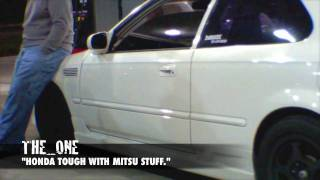 500+whp AWD 4g63 powered Civic vs. Evolution IX