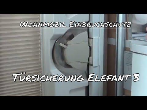 Wohnmobil Einbruchschutz - Türsicherung Elefant 3 - Sicherheit im Wohnmobil - Test Review