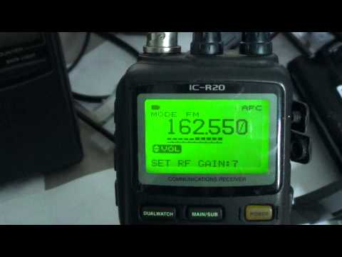 Icom IC R20 Tutorial on Attenuator and RF Gain control