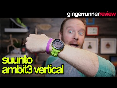 SUUNTO AMBIT 3 VERTICAL GPS WATCH REVIEW   The Ginger Runner