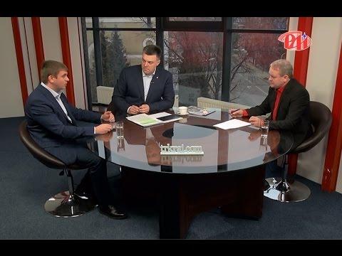 """Олег Тягнибок та Михайло Королик у програмі """"Новий погляд"""" на телеканалі РАІ"""