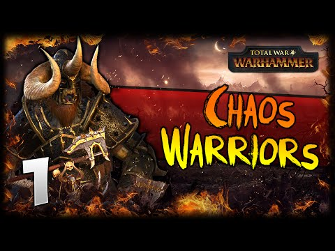 THE SUNEATER RISES! Total War: Warhammer - Warriors of Chaos Campaign #1
