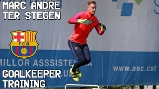 Download Marc-André Ter stegen / Goalkeeper Training / FC Barcelona ! 3Gp Mp4