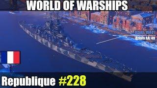 Republique - World of Warships gameplay i omówienie okrętu.