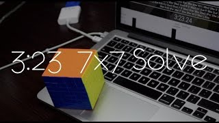 3:23.24 7x7 Solve | Yuxin HuangLong 7x7
