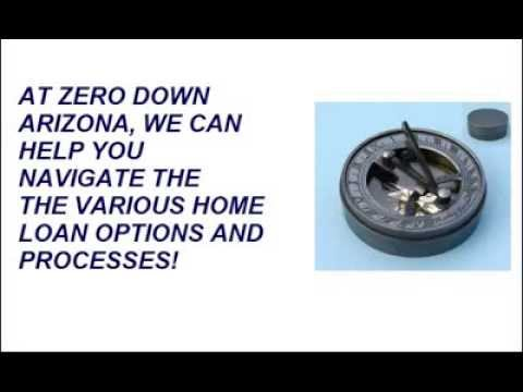 Arizona Zero Or No Down Payment Mortgages And Home Loans