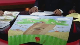Children Influence Design of New Quilt