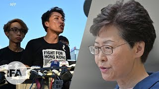 """Người dân Hồng Kông nói bà Carrie Lam đang """"chơi chữ"""""""