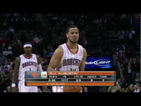 DJ Augustin Drops 31 Points On The Sixers