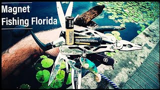 Magnet Fishing Wow! Amazing Finds With 500lb Super Magnet