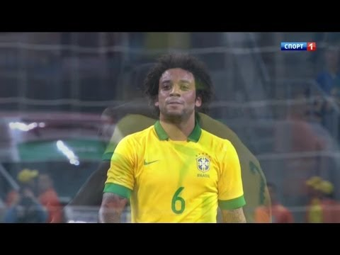 Marcelo Vieira vs France Friendly 2013 HD 720p by i7comps.