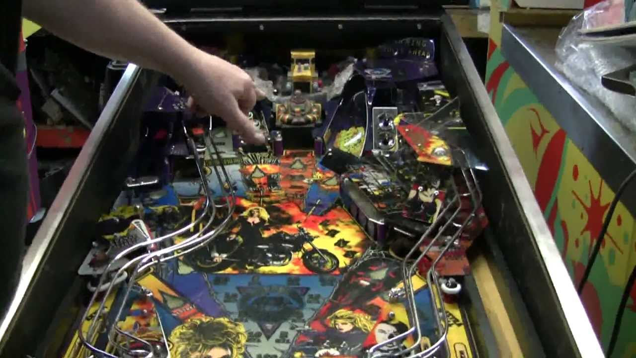 151 gottlieb barb wire pinball machine only 1000 made plus great system 3 tip tnt amusements