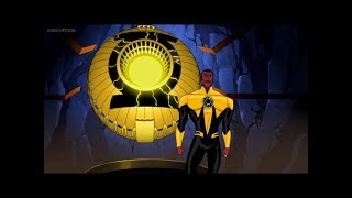 Sinestro becomes a Yellow Lantern (Green Lantern: First Flight)