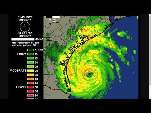 Friday Noon Update on Hurricane Harvey