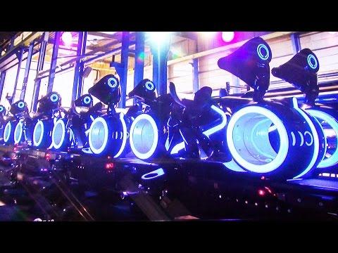 Shanghai Disneyland Tomorrowland, Tron Coaster, Jet Packs, Buzz, Ride Vehicle Design & Testing