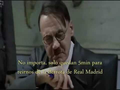Hitler se entera que Real Madrid gano la decima