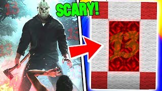 HOW TO MAKE A PORTAL TO THE FRIDAY THE 13TH DIMENSION - MINECRAFT KILLER JASON VOORHEES