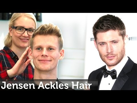 Jensen Ackles Hairstyle | Short Textured Hair For Men | Professional Hairstyling by Slikhaar Studio